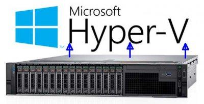 Превращение физического сервера в виртуальный