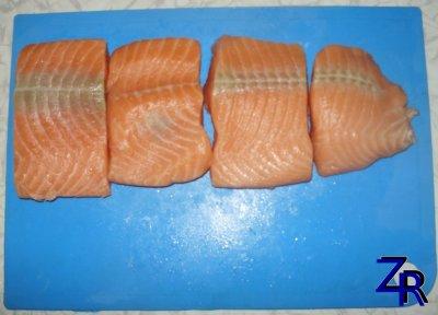 Солим свеже-мороженную рыбу