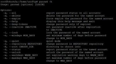 Смена пароля пользователя в Ubuntu с помощью терминала